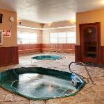 2 Interior Hot tubs