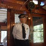 Conductor John on the 225