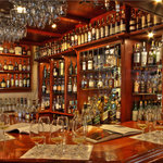 Whisky bar at Auldstone
