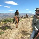  Horseriding in the mountians