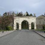 Parc Glynllifon entrance gate