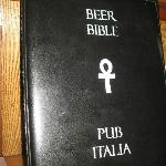 Pub Italia's Beer Bible