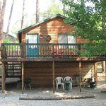  Each cabin has private deck/porch