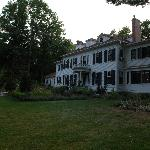  Front of the inn, early evening