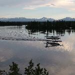 floatplane on the lake