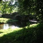 The 17th Century bridge, on the Green Road from Glendalough