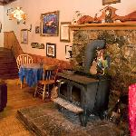  Wood Stove in the Pub