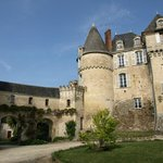  As you arrive at chateau de la celle guenand