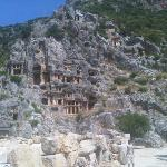  Lycian tombs in Hierapolis