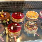 The Big size cake's display