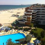  View from Best Western Savoy in Mamaia, Romania