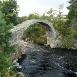 Beautiful little bridge in the village. 2 minute walk