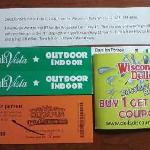 Discount passes and coupons