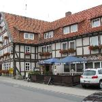 Hotel zum Schiffchen from street