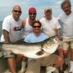 Big Striped Bass, happy guys.