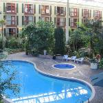  View of the pool from room 235