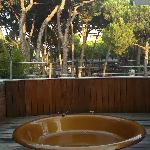  jacuzzi sul balcone