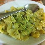  farfalle pistacchi e gamberi