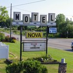 The Nova Motel entrance