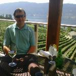  Lunch at the Grapevine at Grey Monk Winery in Kelowna, British Columbia
