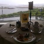  Full Irish Breakfast, view from the dining room