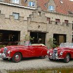 Classic Cars outside Old Abbey