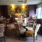 New lovely refurbished restaurant Thyme, Premier Inn Elstree/Borehamwood