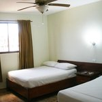 Large Room with 2 Beds of Hotel Samana Spring in Samana Town