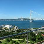  View of Akashi bridge right from hotel room !