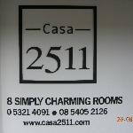 Near the entrance - 8 simply charming rooms