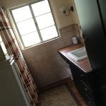 master bath in Mountain Suite