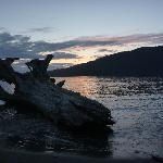 Sunset on the beach at Port Renfrew