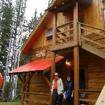 Frank Cushman Chalet outside