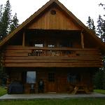 Upstairs accommodation at Frank Cushman Chalet