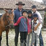 With Luis and Beatrice our riding leaders