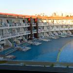 the new block and pool