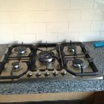  Gas stove c/w Oven