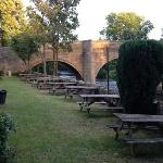 Beer Garden by the river