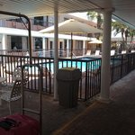  Pool near front desk- refreshing after the beach