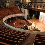 Inside the Ryman Auditorium, access to which is included as part of the tour.