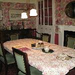 Park Farm House dining room