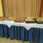  Desayuno buffet