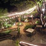  Garden Patio outside of Restaurant