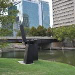 One of the sculptures @ Gene Leahy Mall