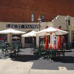 Lee Street Station Cafe in Deadwood.
