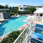 Enjoy our sparkling heated resort pool