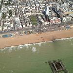 West Pier from Above