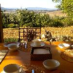  Colazione con vista sulle colline