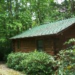 Foto de Misty Creek Log Cabins