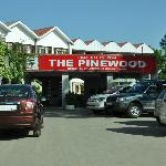 Entrance to Hotel Pinewood